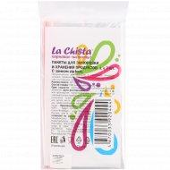 Пакеты «La Chista» для заморозки и хранения продуктов, 1 л х 7 шт с замком.