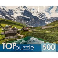 Пазлы «Озеро в горах» 500 элементов.