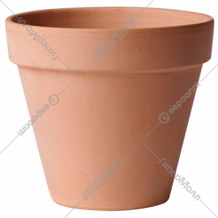 Горшок керамический, 13.4х11.6 см.