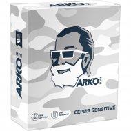 Подарочный набор «Arco» Sensitive, пена, крем после бритья, 200+50 мл