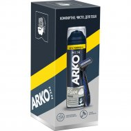 Подарочный набор для бритья «Arco» станок System 3, пена Force, 200 мл