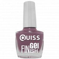 Лак для ногтей «Quiss» Gel Finish, тон 19, 10 мл.
