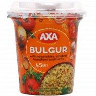 Каша булгур «AXA» с овощами, копчеными томатами и зеленью, 45 г.