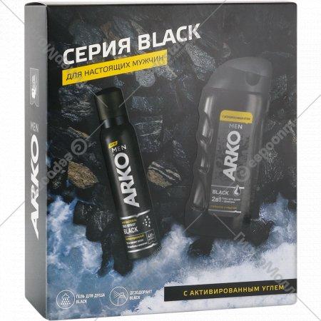 Подарочный набор «Arko Men» гель для душа 260 мл+дезодорант 150 мл.