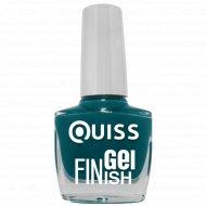 Лак для ногтей «Quiss» Gel Finish, тон 21, 10 мл.