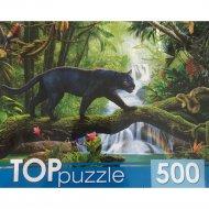 Пазлы «Черная пантера» 500 элементов.