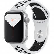 Умные часы «Apple» Watch Nike Series 5 GPS MX3R2UL/A Silver.