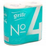Бумага туалетная «Grite» №4, двухслойная.