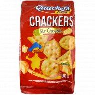 Крекер соленый «Delicious Quackers» c сыром, 80 г.
