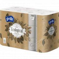 Туалетная бумага «Grite» Ecological 24, 3 слоя.