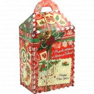 Новогодний набор кондитерских изделий «Новогоднее послание» 1 кг.