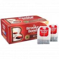 Чай чёрный «Brooke Bond» крепкий, 50 пакетиков.