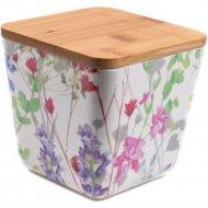 Банка для сыпучих продуктов «Fresca» Цветы, BP1111-S-18010