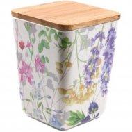 Банка для сыпучих продуктов «Fresca» Цветы, BP1111-M-18010