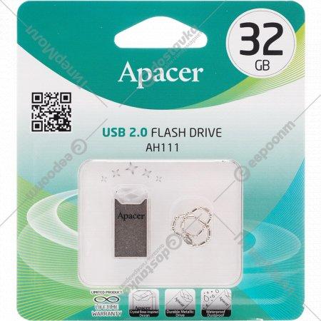 USB-накопитель «Apacer» AH111CR-1 Crystal, 32GB.