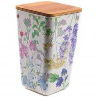 Банка для сыпучих продуктов «Fresca» Цветы, BP1111-L-18010