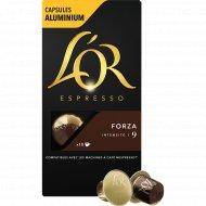 Кофе молотый «L'or» Espresso Forza, капсулы, 10х5.2 г