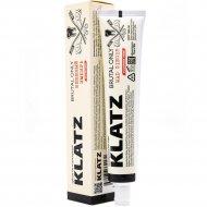 Зубная паста «Klatz brutal only» бешеный имбирь без фтора, 75мл.