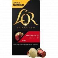 Кофе молотый «L'or» Espresso Splendente, капсулы, 10х5.2 г