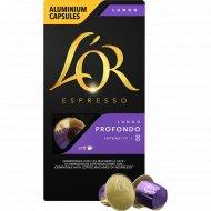Кофе молотый «L'or» Espresso Lungo Profondo, капсулы, 10х5.2 г