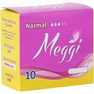 Тампоны «Meggi» нормал, 10 шт