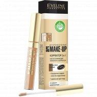 Корректор 2 в 1«Eveline» Art Professional Make-Up, №08 Фарфор (Porcelain), 7 мл.