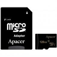 Карта памяти «Apacer» AP 128G MCSX10U1-R.