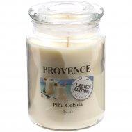 Свеча в подсвечнике «Provence» Пина Колада, 10х14 см