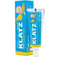 Зубная паста «Klatz baby» большая груша без фтора, 40 мл.