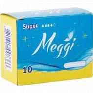 Тампоны «Meggi» супер, 10 шт
