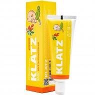 Зубная паста «Klatz baby» веселый шиповник без фтора, 40 мл.