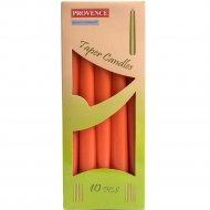 Набор свечей «Provence» 560107/37 оранжевый, 24x2 см, 10 штук