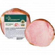 Продукт из свинины «Ветчина из окорока» копчено-вареный, 1 кг., фасовка 0.3-0.55 кг