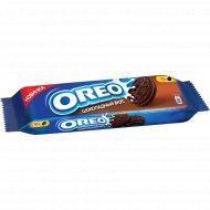 Печенье «Oreo» с какао и начинкой со вкусом шоколада, 95 г.
