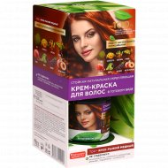 Краска для волос «Народные рецепты» тон ярко-рыжий медный, 120 мл.