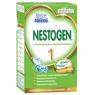 Смесь сухая молочная«Nestogen 1»с пребиотиками и лактобактериями,700г.