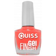 Лак для ногтей «Quiss» Gel Finish, тон 34, 10 мл.