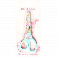 Ножницы детские «Hello Kitty» 13 см, с пластиковым чехлом.