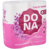 Бумага туалетная «Dona» Aroma, 2 слоя, 4 шт