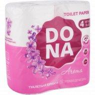 Бумага туалетная «Dona» Aroma, двухслойная, 4 рулона