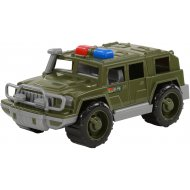 Игрушка автомобиль - джип военный «Защитник» патрульный.