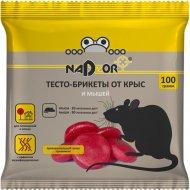 Тесто-брикет от крыс и мышей «Nadzor» 100 г/ 50.
