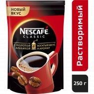 Кофе растворимый «Nescafe classic» с добавлением молотого, 250 г.