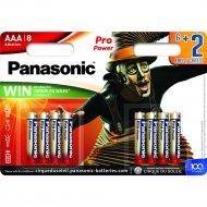 Элемент питания «Panasonic» Pro LR03PPG/8BW, 8 шт.