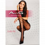 Колготки женские «ArtG Evelyn» 20 den, Nero, размер 3.