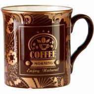 Кружка фарфоровая «Coffe» 310 мл.