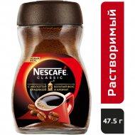 Кофе растворимый «Nescafe classic» с добавлением молотого, 47.5 г.