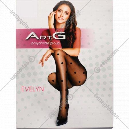 Колготки женские «ArtG Evelyn» 20 den, Nero, размер 4.