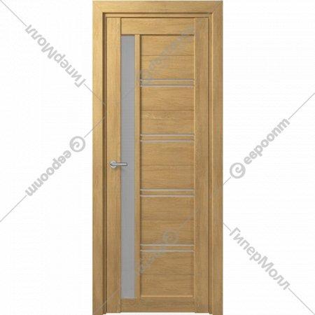 Дверь «Портадом» Deform, D19 ДО Дуб натуральный/Матовое, 200х90 см
