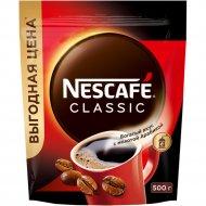 Кофе растворимый «Nescafe classic» с добавлением молотого, 500 г.
